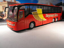 TOY COACH  DIECAST MODEL COACH  MODEL BUS  COACH RED COACH  COACH DRIVER GIFT