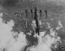 US Air Force B-17 Miss Donna Mae II Hit by Friendly Fire Berlin 1944 World War 2