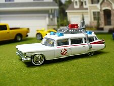 Ghostbusters Ecto 1 Cadillac Miller Meteor Ambulance Hearse Real Rider Rubber