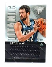 Kevin Love 2013-14 Panini Titanium, titantic, threads (),/299!!!