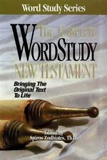 Word Study: The Complete Word Study Bible New Testament (1991, Hardcover)