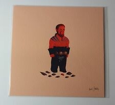 """Olly Moss KHAL DROGO of Game of Thrones Blind Box Print 5""""x5"""""""