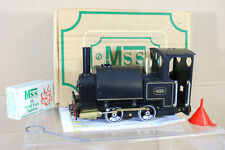 MSS 909001 LIVE STEAM O GAUGE 0-4-0 SADDLE TANK LOCOMOTIVE MINT BOXED ng