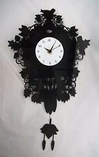 Faux Coo Coo Clock plastic black Target battery operated