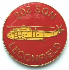 RAF No 202 Squadron Leconfield Royal Air Force Pin Badge *Official Licensed*