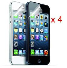 Pack of 4 Crystal Clear thin Screen Guard Screen Protector for iPhone 5 5S