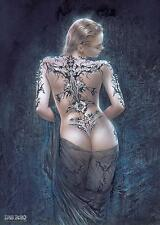 "LUIS ROYO POSTER ""TATTOO GIRL"""