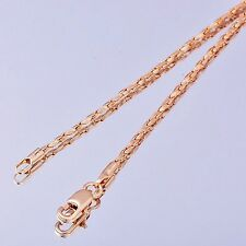 24K Yellow Gold Plated Women's Snake long necklace fashion jewelry