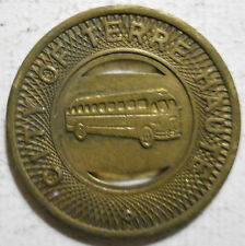 City of Terre Haute (Indiana) transit token - IN890F
