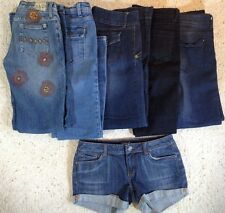 LOT 5 Jeans 1 PAIR Denim SHORTS JULY 25 AMERICAN EAGLE SIZE 4/28 Inseam 33 Low S