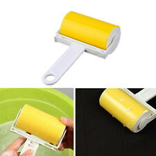 Washable Sticky Hair Removal Roller for Dust Clothes Furniture Cleaning YELLOW