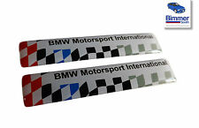PAIR of BMW M3 LTW Door Moulding Motorsport Emblem Badge 51132264146 OEM Quality