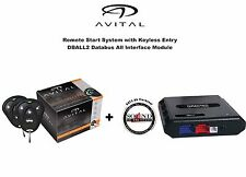 Viper 4103LX 4 Button Car Remote Start System w/ Bypass Module DBALL2 Included