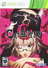 XBOX 360 GAME CATHERINE BRAND NEW & FACTORY SEALED