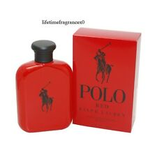 Ralph Lauren Polo Red 4.2 Oz Men's Eau de Toilette NEW