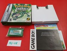 Pokemon Emerald [Game + Box] (GBA GameBoy Advance) Authentic Tested & Working