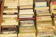 FIFTY 50 x 8 Track cassette cartridges Vintage Audio - selection available