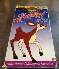 Rudolph the Red-Nosed Reindeer (VHS, 1994) Cartoon w/3 other stories
