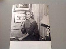 MICHÈLE MORGAN  - Photo de presse originale 24x18cm