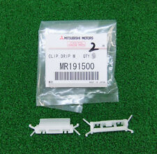 MITSUBISHI LANCER EVO5 EVO6 CP9A CLIP, DRIP MOULDING WHITE SET x2 PCS MR191500