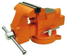 Pony Jorgensen 29050 Heavy Duty Workshop Bench Vise 5 Inch Jaws With Swivel Base