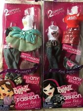 MGA Bratz Fashion Packs Clothing for dolls Rock Angelz and Princess NEW