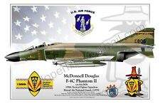 McDonnell Douglas -  F-4C Phantom II - Air National Guard- Airplane Profile