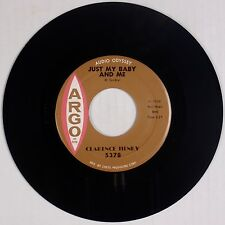 CLARENCE HENRY: Just My Baby and Me / But I Do ARGO Orig Soul R&B 45 VG++