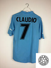 Lazio CLAUDIO #7 02/03 Home Football Shirt (L) Soccer Jersey Serie A