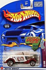 Hot Wheels 074 '33 Ford, 2002 Trump Cars 4/4, Queen of Spades, Race & Win MOC