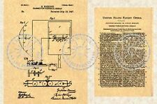 1897 US Patent for RADIO by Guglielmo MARCONI #589