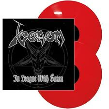Venom - In League With Satan Volume 2 2x RED COLOURED vinyl Expanded Edition