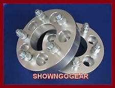"Wheel Hub Spacer Adapter 5 x 4.75-5 x 4.75 Studs 7/16 2"" chev drag hubcentric"