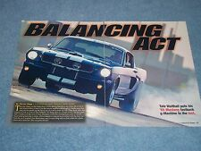 "1965 Mustang Fastback G-Machine Article ""Balancing Act"" --- From 2006 ---"
