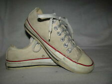 Converse ALL STAR Taylor 5 M White Canvas Low Tennis Sneaker Shoes Made In USA