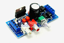 Dual-Channel Power Amplifier Board w/ BTL Circuit 2x20W & TDA7377 Chips DC12-15V