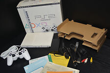 SONY PLAYSTATION 2 PS 2 TWO SCPH 70000 PSX CERAMIC WHITE CW  IMPORT  JAPAN RARE