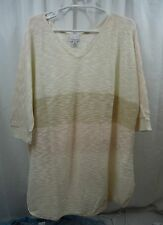 Women's Kim Rogers Plus Size   Sweater 2X  NWT
