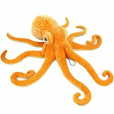 "Jesonn Realistic Soft Stuffed Marine Animals Toy Octopus Plush,Orange,21.6"" or"