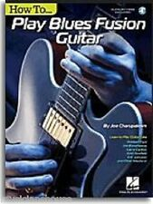 How to Play Blues Fusion Guitar Robben Ford Larry Carlton Music Book Online