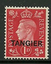 Album Treasures Tangier Scott # 516  1p George VI Overprint MH