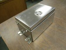 Cooper/Crouse-Hinds Stainless Steel Enclosure XLV510906951 *No Box* New Surplus