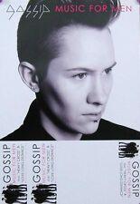 GOSSIP POSTER, MUSIC FOR MEN (A26)
