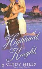 Highland Knight by Cindy Miles, Good Book