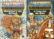 Retro Ladybird Masters Of The Universe He-Man story books X2