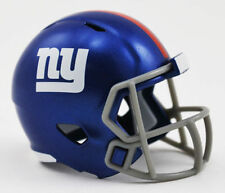 NUOVO NFL Football Americano RIDDELL velocità Pocket Pro CASCO New York Giants