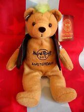 HRC Hard Rock Cafe Amsterdam Punk Bear Mohawk 2010 Green Hair Herrington