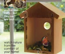 WINDOW BIRD NESTING BOX - WATCH NATURE FROM THE COMFORT OF YOUR HOME - NEW