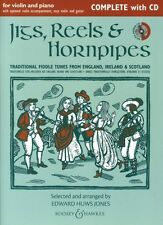 Jigs Reels & Hornpipes Complete Edition with CD Chamber Music Book and 048023135