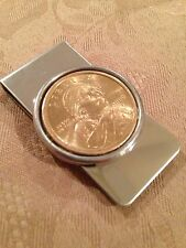 Sacajawea US dollar coin money clip stainless steel